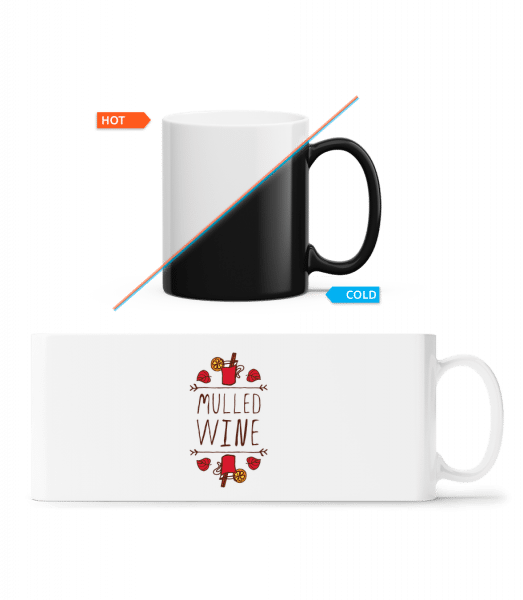 Mulled Wine Sign - Magic Mug - White - Vorn