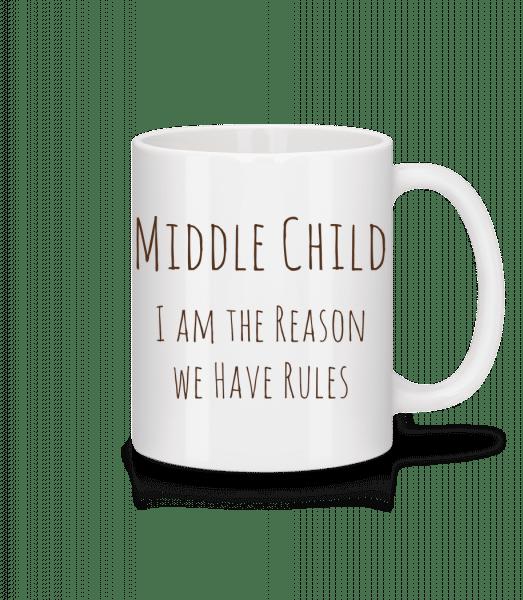 Middle Child - Mug - White - Vorn