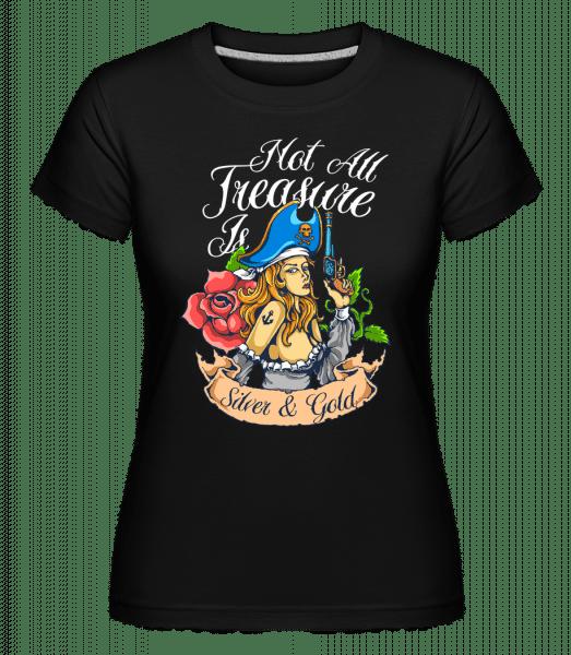 Pirate Tale -  Shirtinator Women's T-Shirt - Black - Vorn