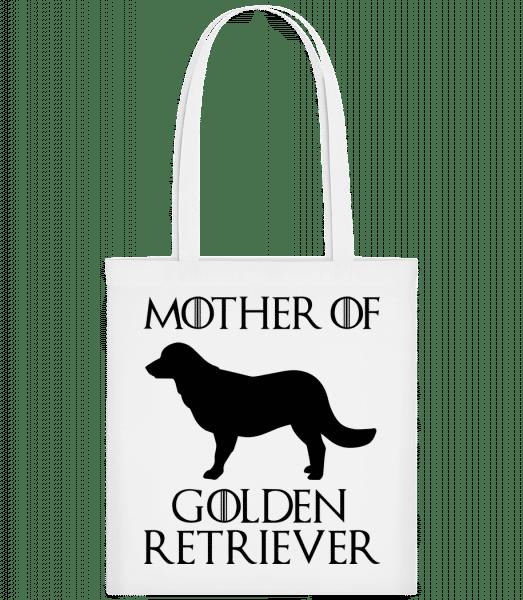 Mother Of Golden Retriever - Carrier Bag - White - Vorn