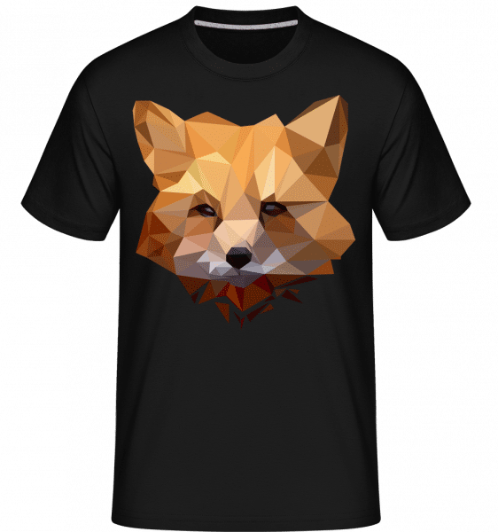 Polygon Fox -  Shirtinator Men's T-Shirt - Black - Vorn