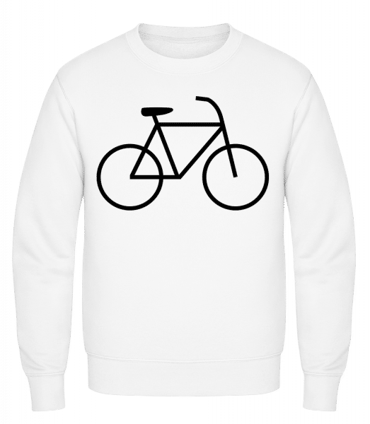 Bicycle - Classic Set-In Sweatshirt - White - Vorn