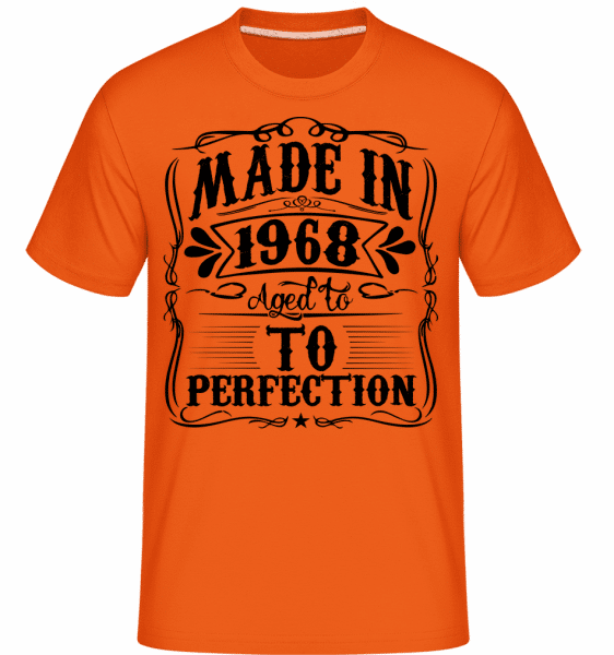 Made In 1970 -  Shirtinator Men's T-Shirt - Orange - Vorn