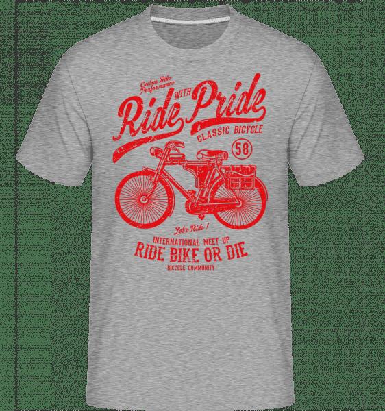 Ride With Pride -  Shirtinator Men's T-Shirt - Heather grey - Vorn