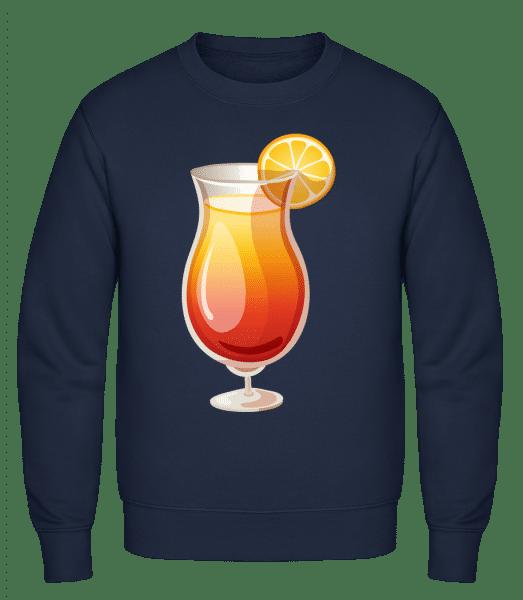 Cocktail Sex On The Beach - Classic Set-In Sweatshirt - Navy - Vorn