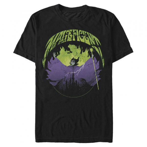 Maleficent Rock - Disney Sleeping Beauty - Men's T-Shirt - Black - Front