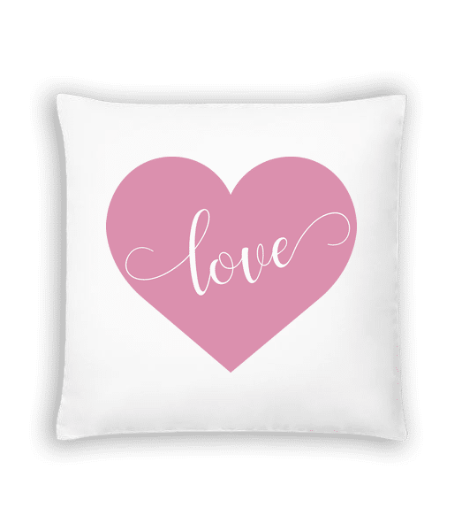 Love - Cushion - White - Vorn