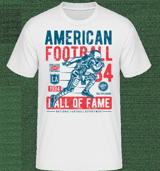 American Football -  Shirtinator Men's T-Shirt - White - Vorn
