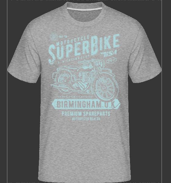 Super Bike -  Shirtinator Men's T-Shirt - Heather grey - Vorn