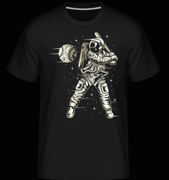 Space Baseball -  Shirtinator Men's T-Shirt - Black - Front