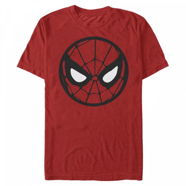 SpiderMan Icon - Marvel Spider-Man - Men's T-Shirt - Red - Front