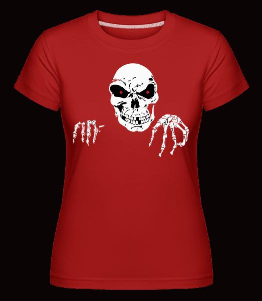 Creepy Death -  Shirtinator Women's T-Shirt - Red - Vorn