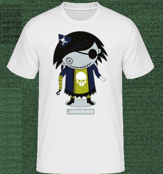 Hrôza Dieťa -  Shirtinator tričko pre pánov - Biela - Predné