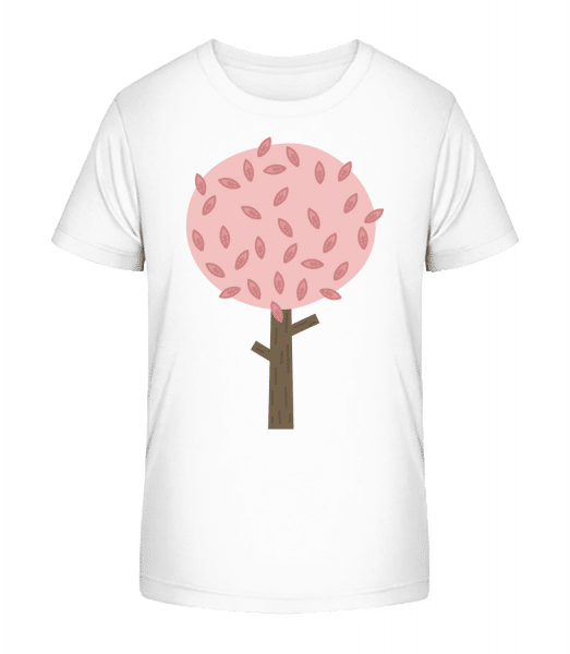 Autumn Tree - Kid's Premium Bio T-Shirt - White - Vorn