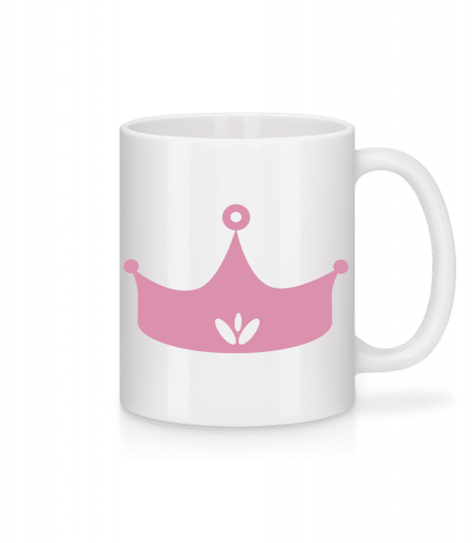 Princess Crown Pink - Mug - White - Vorn