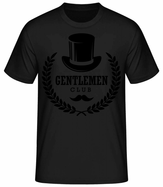 Gentlemen Club - Men's Basic T-Shirt - Black - Vorn