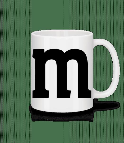 M - Mug - White - Vorn