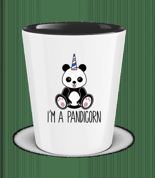 I'm A Pandicorn - Two-Toned Shot Glass - White - Vorn