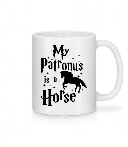 My Patronus Is A Horse - Mug - White - Vorn