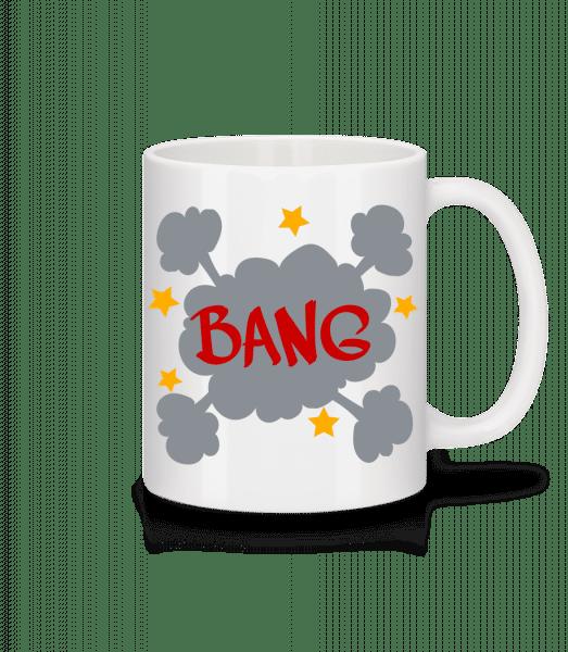 Bang Comic - Mug en céramique blanc - Blanc - Devant