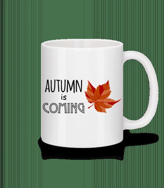 Autumn Is Coming - Mug - White - Vorn