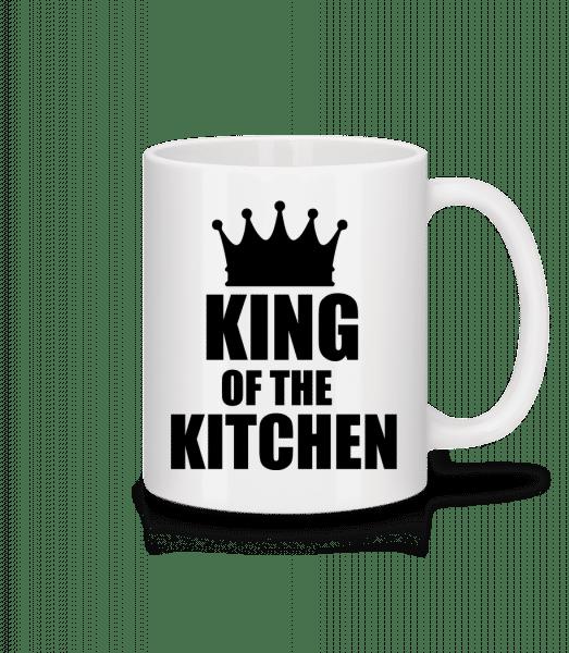 King Of The Kitchen - Mug - White - Vorn