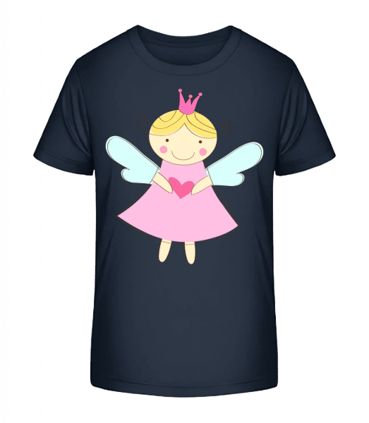Little Fairy Princess - Kid's Premium Bio T-Shirt - Navy - Vorn