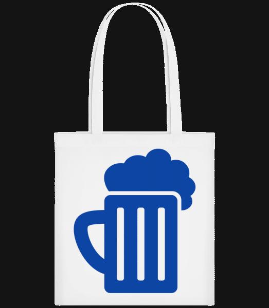 Beer - Carrier Bag - White - Vorn