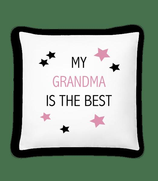 My Grandma Is The Best - Cushion - White - Vorn
