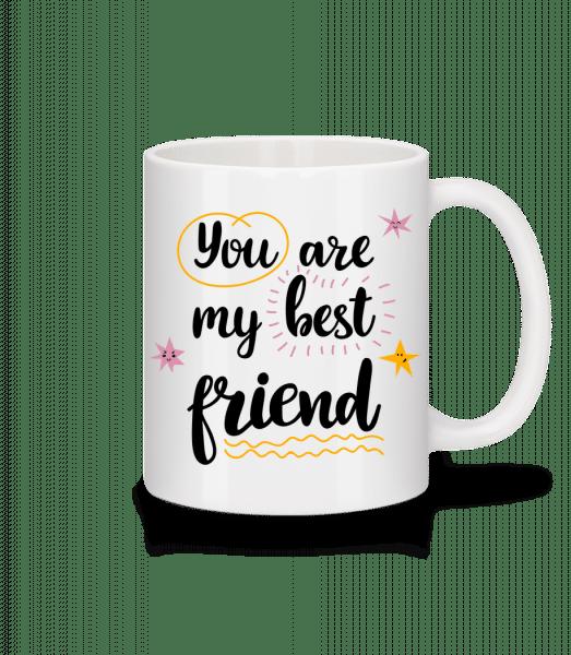 You Are My Best Friend - Tasse - Weiß - Vorn