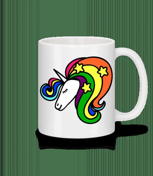 Unicorn Rainbow - Mug - White - Front