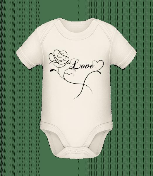 Love Flowers - Organic Baby Body - Cream - Vorn
