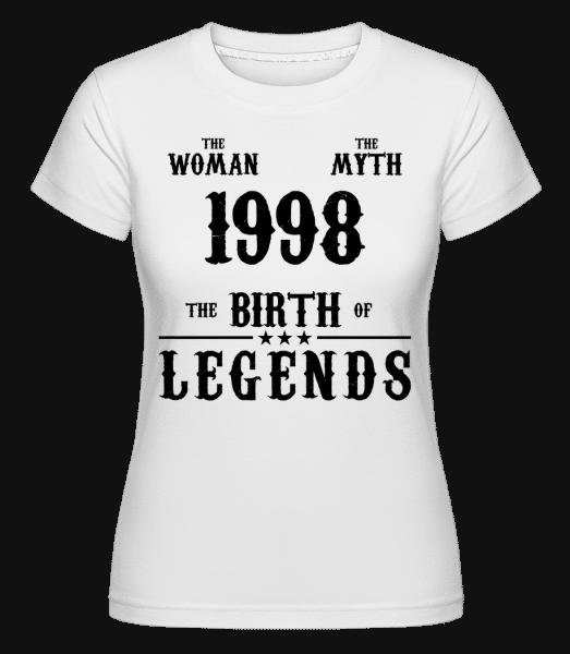 Mýtus Žena 1998 -  Shirtinator tričko pro dámy - Bílá - Napřed
