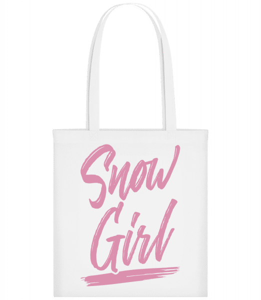 Snow Girl - Carrier Bag - White - Vorn