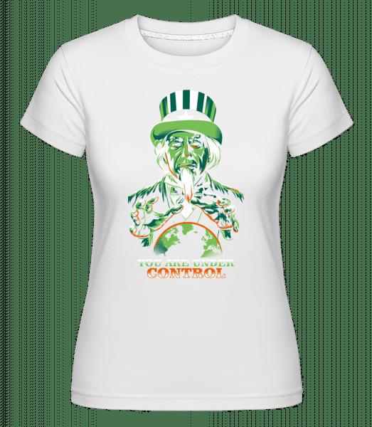 Under Control -  Shirtinator Women's T-Shirt - White - Vorn
