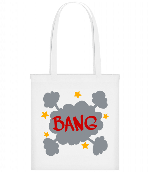 Bang Comic - Carrier Bag - White - Vorn