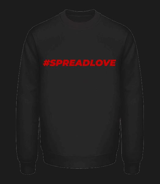 Spreadlove - Unisex Pullover - Schwarz - Vorn