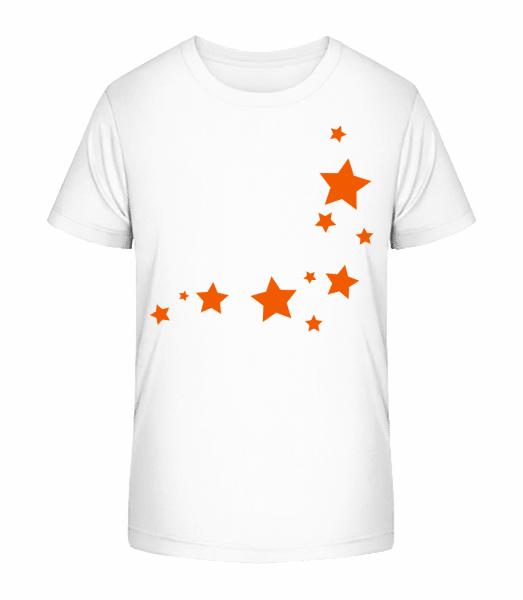 Stars - Kid's Premium Bio T-Shirt - White - Vorn