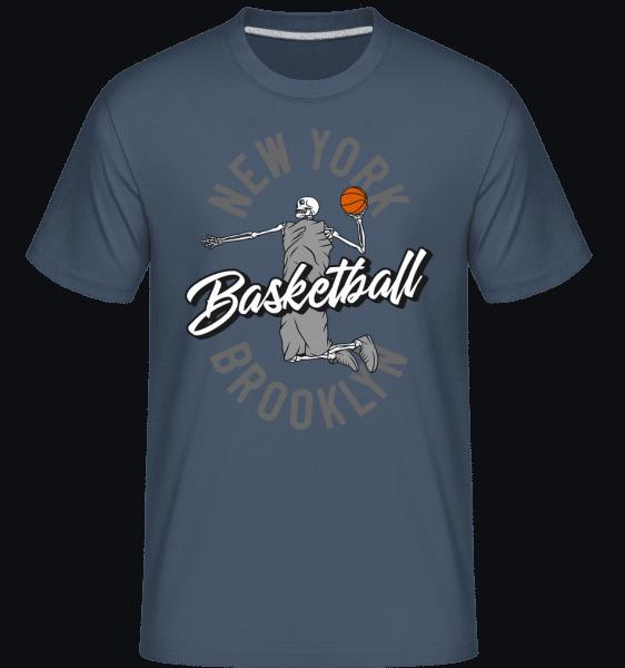 New York Basketball -  Shirtinator Men's T-Shirt - Denim - Vorn