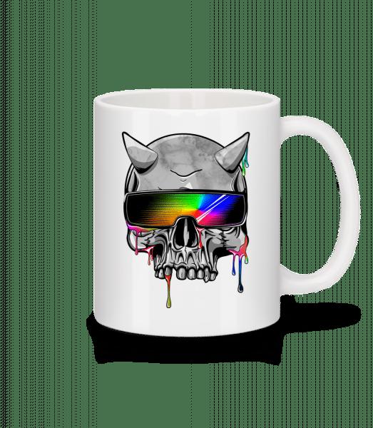 Höllen Hipster - Tasse - Weiß - Vorn