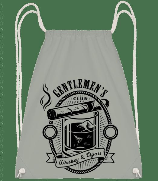 Gentlemen's Club - Drawstring Backpack - Anthracite - Vorn