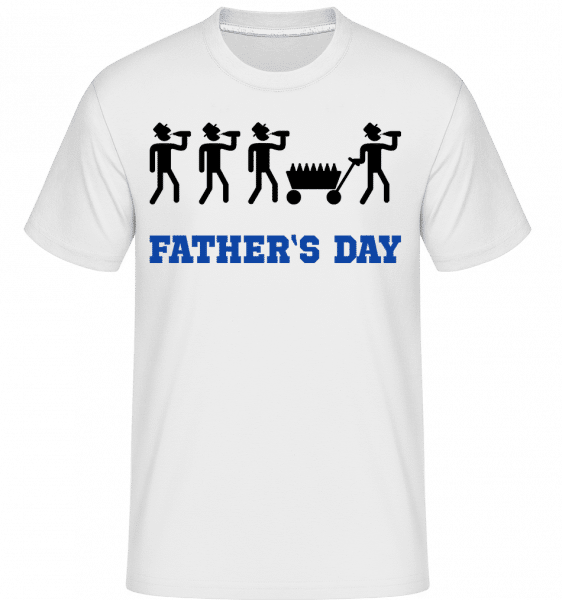 Father's Day -  Shirtinator Men's T-Shirt - White - Front