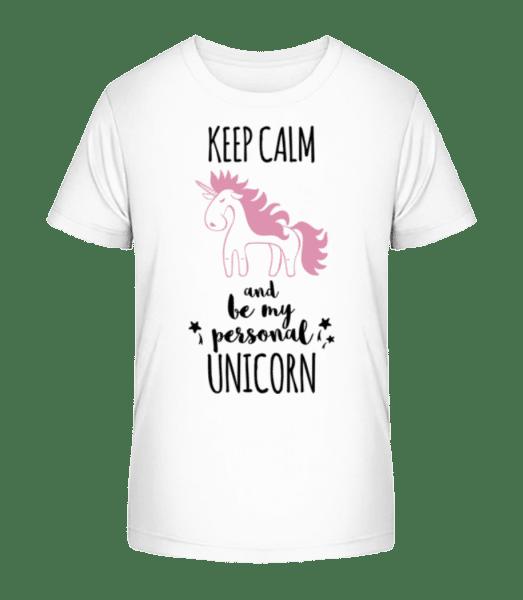 Be My Personal Unicorn - Kid's Premium Bio T-Shirt - White - Vorn