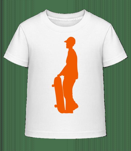 Sk8er Boy - Kid's Shirtinator T-Shirt - White - Vorn