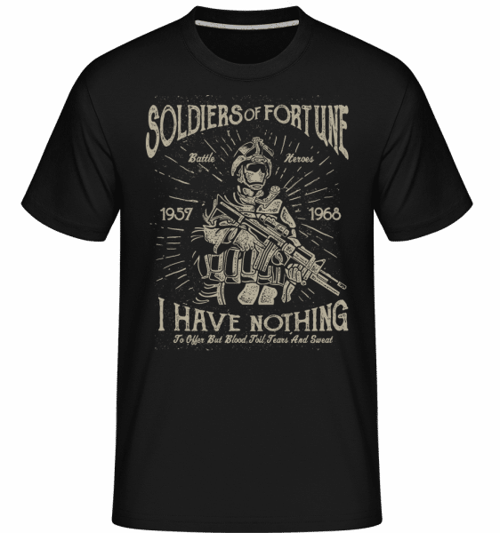 Soldiers Of Fortune -  Shirtinator Men's T-Shirt - Black - Vorn