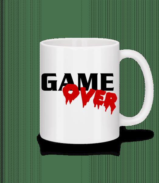 Game Over - Mug - White - Vorn