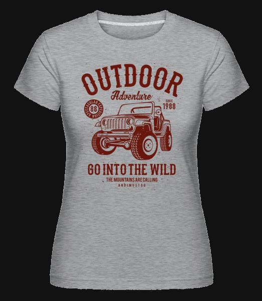 Outdoor Adventure(1) -  Shirtinator Women's T-Shirt - Heather grey - Vorn