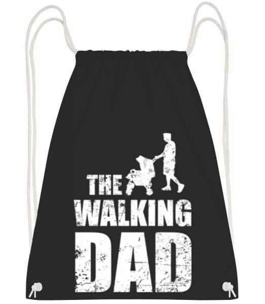 The Walking Dad - Turnbeutel - Schwarz - Vorne