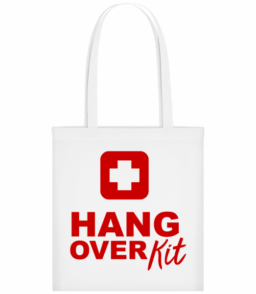 Hangover Kit - Carrier Bag - White - Vorn