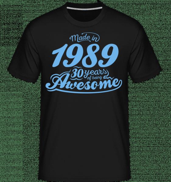 Vyrobený v roce 1989, 30 let Děsivý -  Shirtinator tričko pro pány - Černá - Napřed